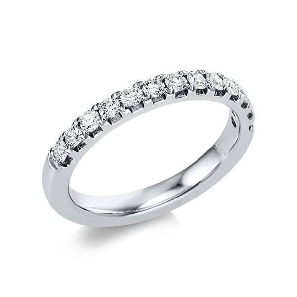 14 kt fehérarany félig köves eternity 13 gyémánttal 1V552W454-1