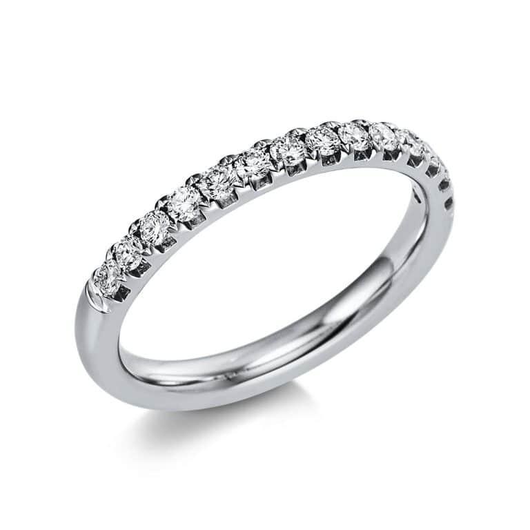 14 kt fehérarany félig köves eternity 14 gyémánttal 1V551W454-1