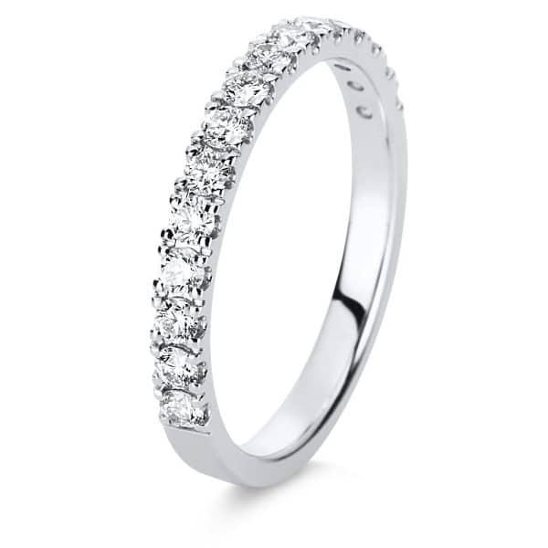 14 kt fehérarany félig köves eternity 15 gyémánttal 1D130W455-1