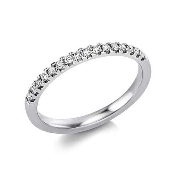 14 kt fehérarany félig köves eternity 16 gyémánttal 1V549W454-1