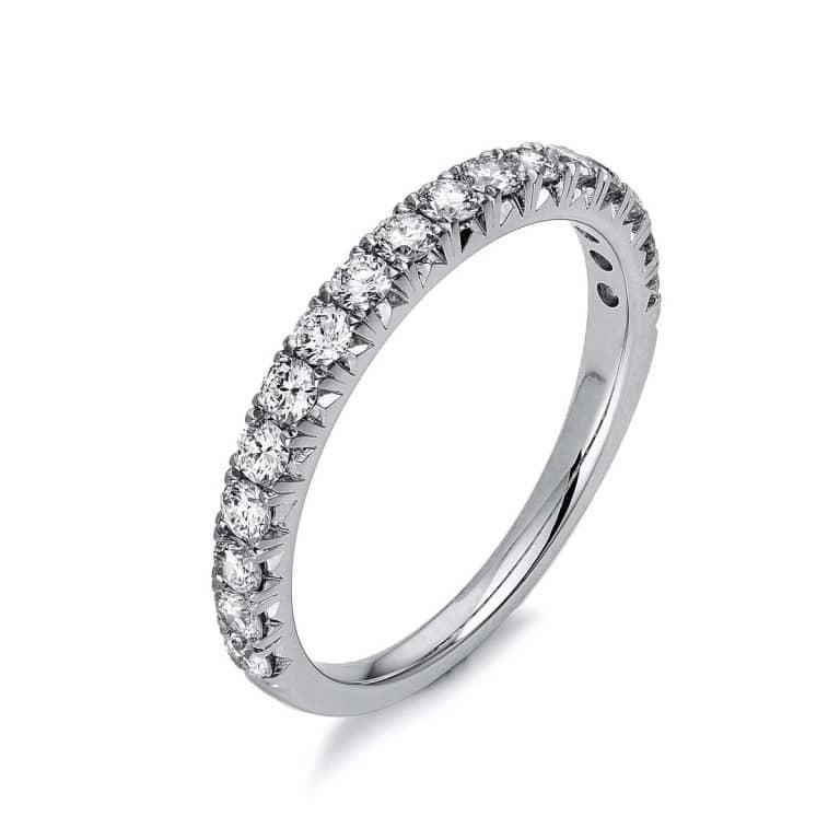 14 kt fehérarany félig köves eternity 17 gyémánttal 1S675W454-1