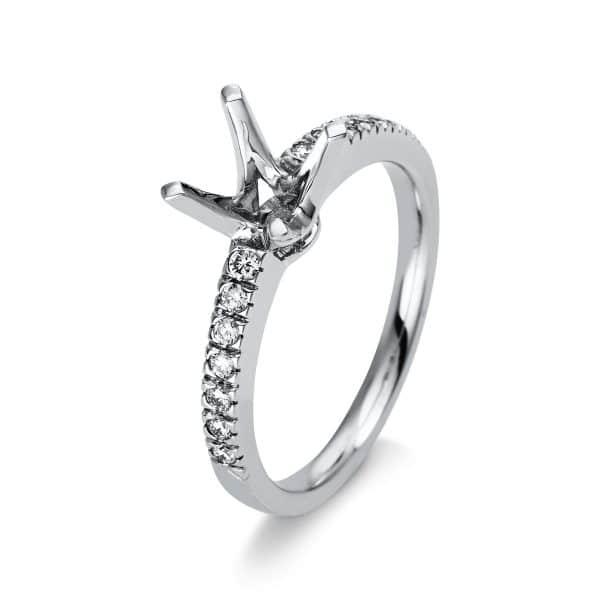 14 kt fehérarany foglalat 14 gyémánttal 1N063W463-1