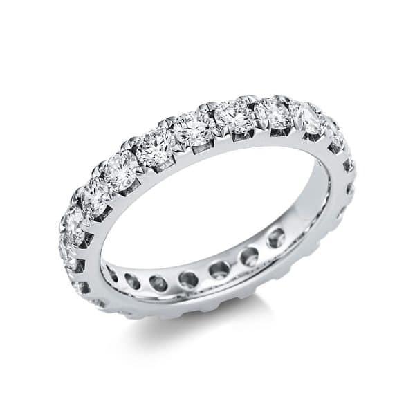 14 kt fehérarany körbe köves eternity 23 gyémánttal 1V560W454-1