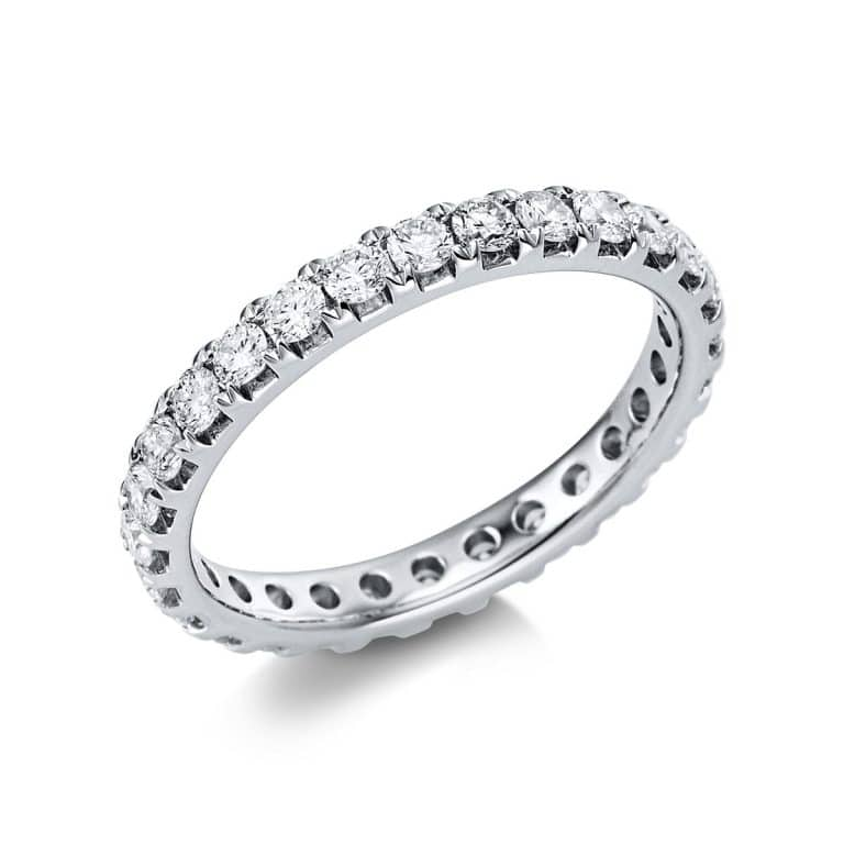 14 kt fehérarany körbe köves eternity 28 gyémánttal 1V558W454-1