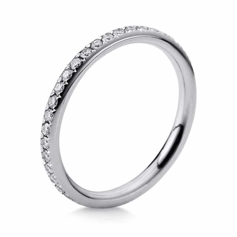 14 kt fehérarany körbe köves eternity 39 gyémánttal 1B828W452-1