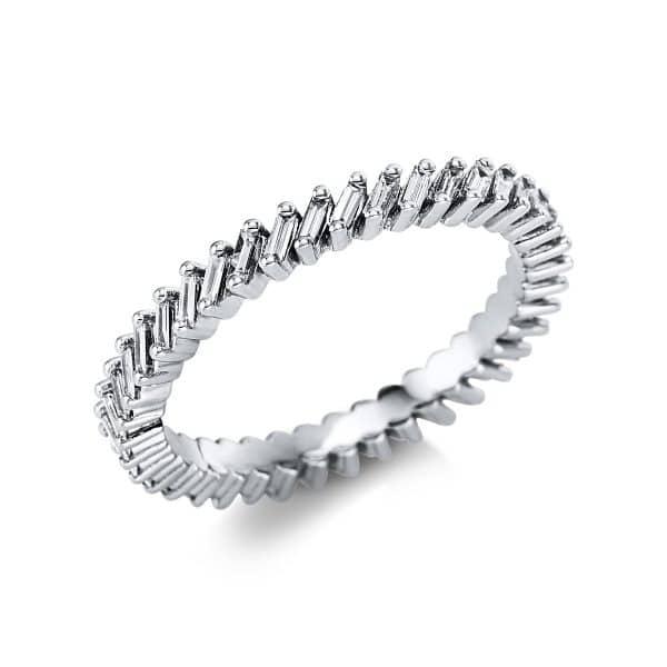 14 kt fehérarany körbe köves eternity 40 gyémánttal 1V592W453-1