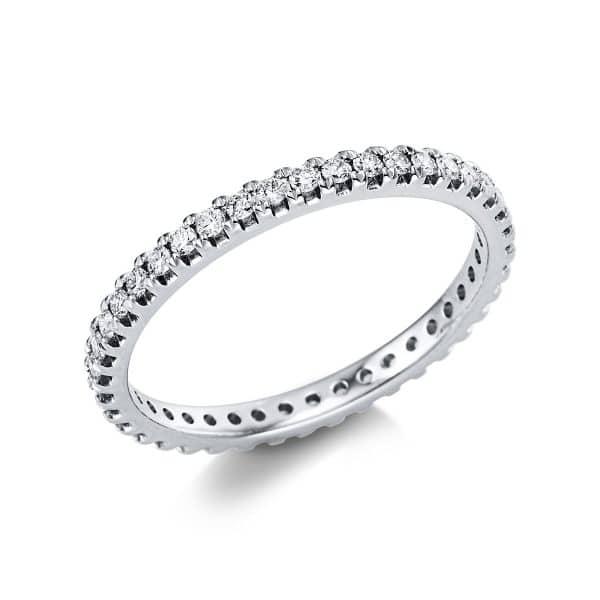 14 kt fehérarany körbe köves eternity 41 gyémánttal 1V555W454-1