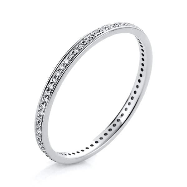 14 kt fehérarany körbe köves eternity 69 gyémánttal 1A426W456-1