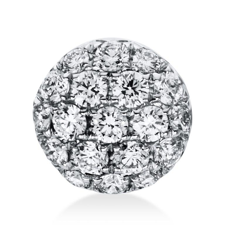 14 kt fehérarany medál 19 gyémánttal 3D626W4-1