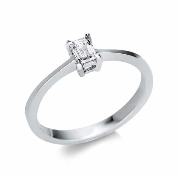 14 kt fehérarany szoliter 1 gyémánttal 1U589W452-1