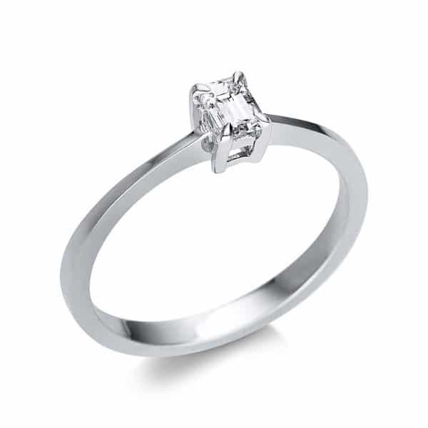 14 kt fehérarany szoliter 1 gyémánttal 1U590W452-1