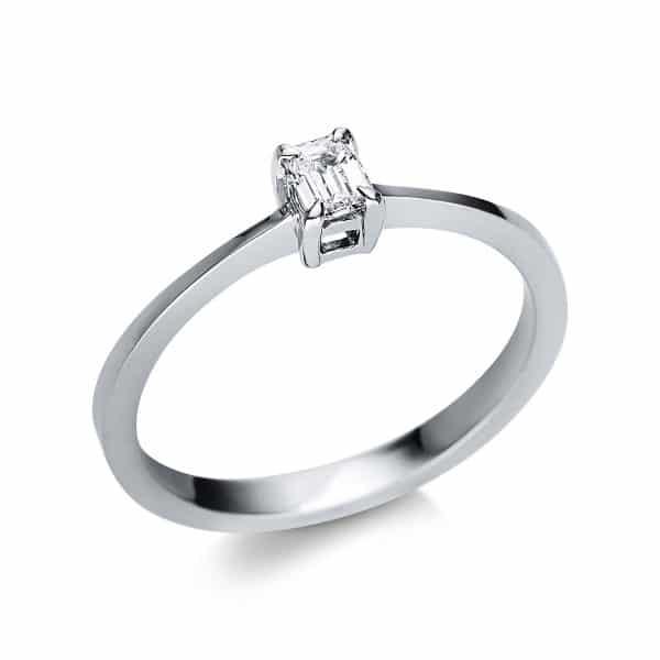 14 kt fehérarany szoliter 1 gyémánttal 1U591W452-1