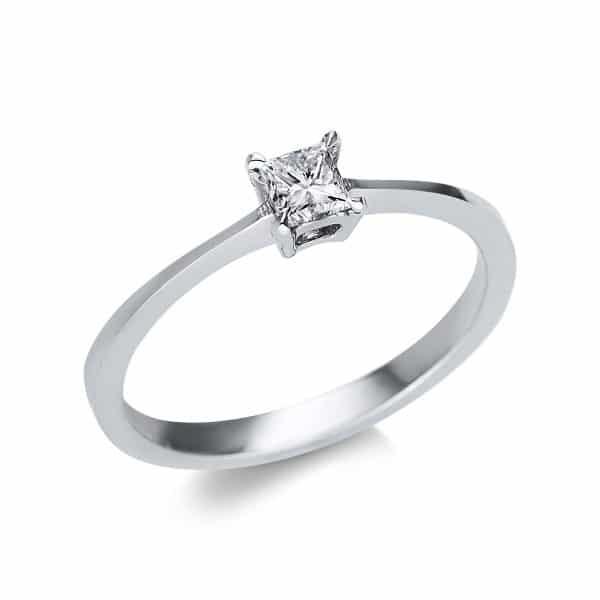 14 kt fehérarany szoliter 1 gyémánttal 1U593W452-1