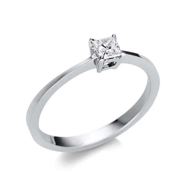 14 kt fehérarany szoliter 1 gyémánttal 1U594W452-1