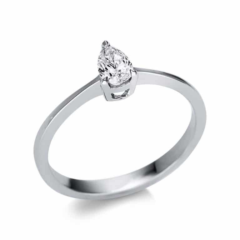 14 kt fehérarany szoliter 1 gyémánttal 1U598W452-1