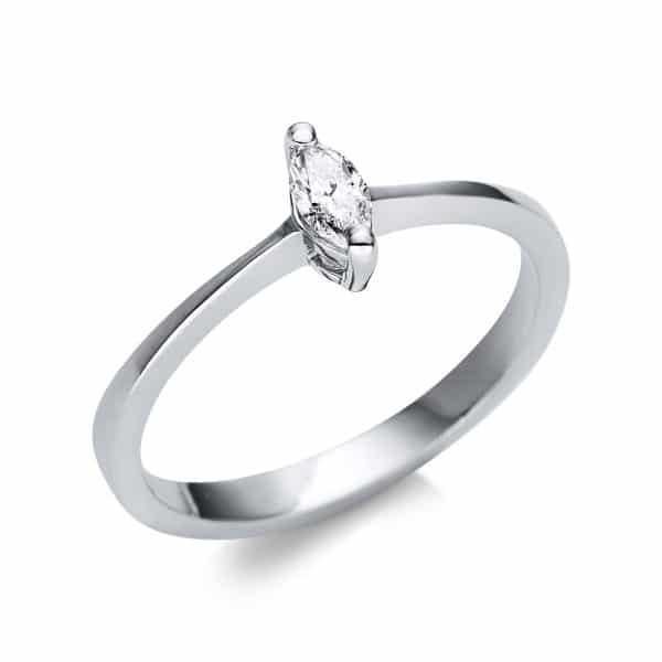 14 kt fehérarany szoliter 1 gyémánttal 1U604W452-1