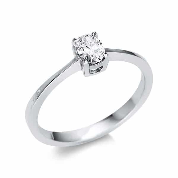 14 kt fehérarany szoliter 1 gyémánttal 1U606W452-1
