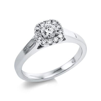 14 kt fehérarany szoliter oldalkövekkel 13 gyémánttal 1V622W454-1