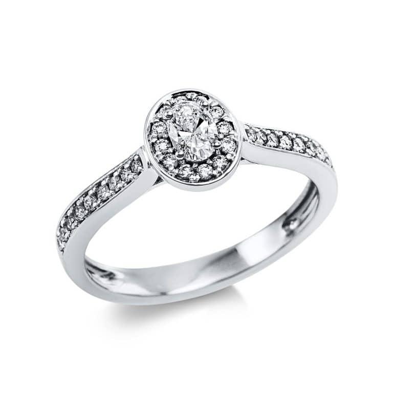 14 kt fehérarany szoliter oldalkövekkel 31 gyémánttal 1V624W454-1