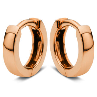 14 kt red gold hoops & huggies  2E975R4-4