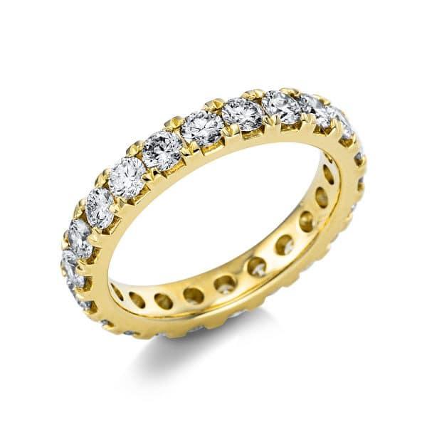 14 kt sárga arany körbe köves eternity 23 gyémánttal 1V560G454-1