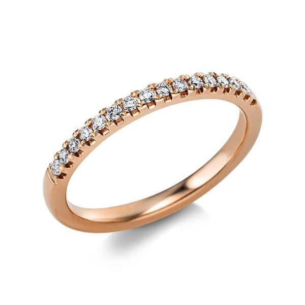 14 kt vörös arany félig köves eternity 16 gyémánttal 1V549R454-1