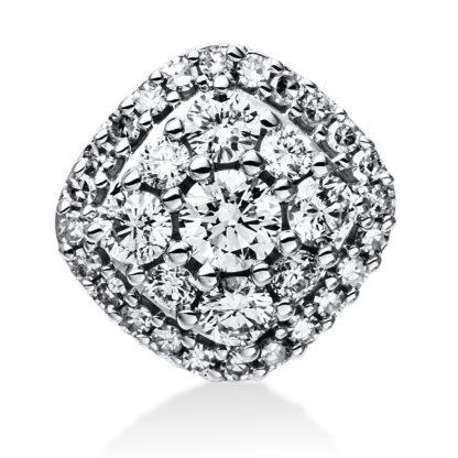 14 kt white gold pendant with 33 diamonds 3E029W4-1