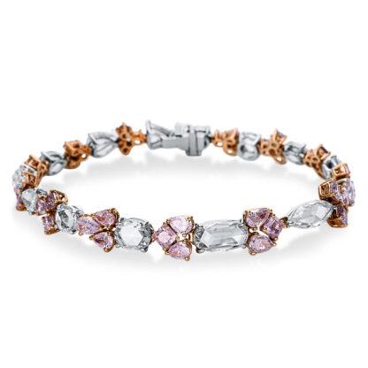 18 kt  bracelet with 50 diamonds 5C054WR8-1