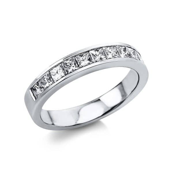 18 kt fehérarany félig köves eternity 11 gyémánttal 1V390W854-1