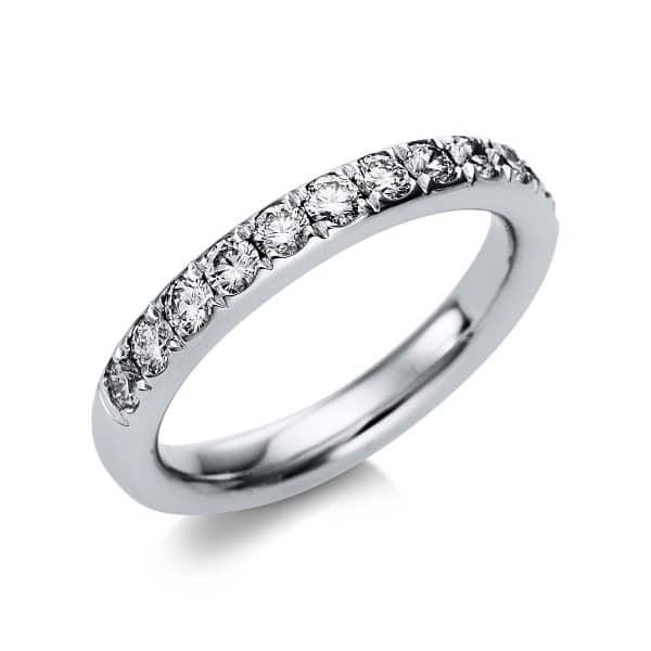 18 kt fehérarany félig köves eternity 13 gyémánttal 1B814W854-2