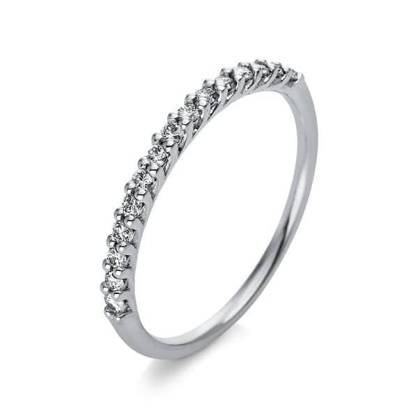 18 kt fehérarany félig köves eternity 15 gyémánttal 1Q768W854-1