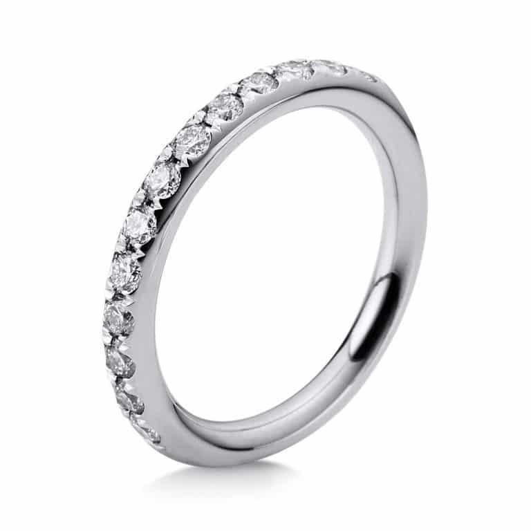 18 kt fehérarany félig köves eternity 16 gyémánttal 1B815W854-5