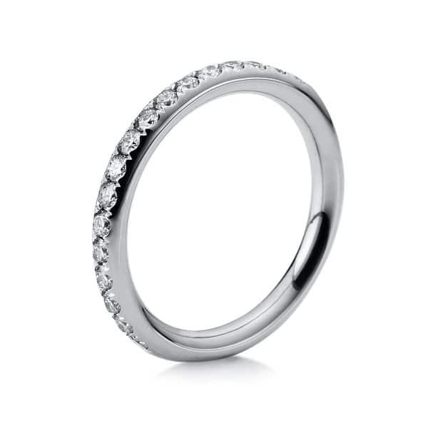 18 kt fehérarany félig köves eternity 17 gyémánttal 1B817W854-5