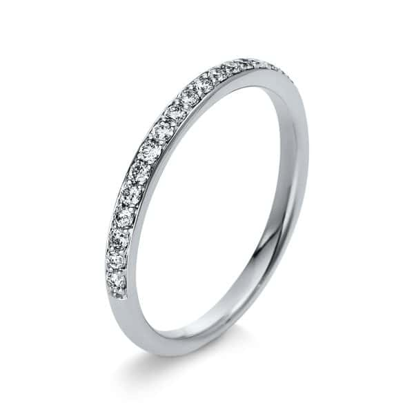18 kt fehérarany félig köves eternity 18 gyémánttal 1S304W855-1