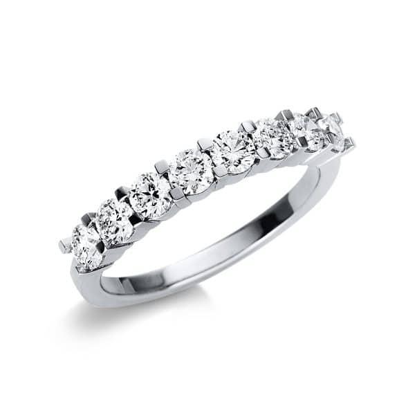 18 kt fehérarany félig köves eternity 8 gyémánttal 1V030W854-1