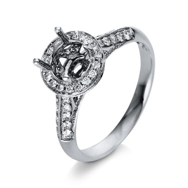 18 kt fehérarany foglalat 108 gyémánttal 1R024W853-1