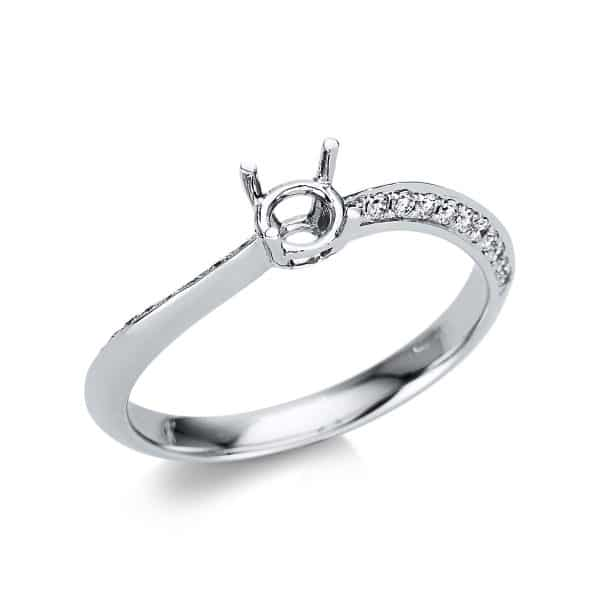 18 kt fehérarany foglalat 22 gyémánttal 1U800W853-1