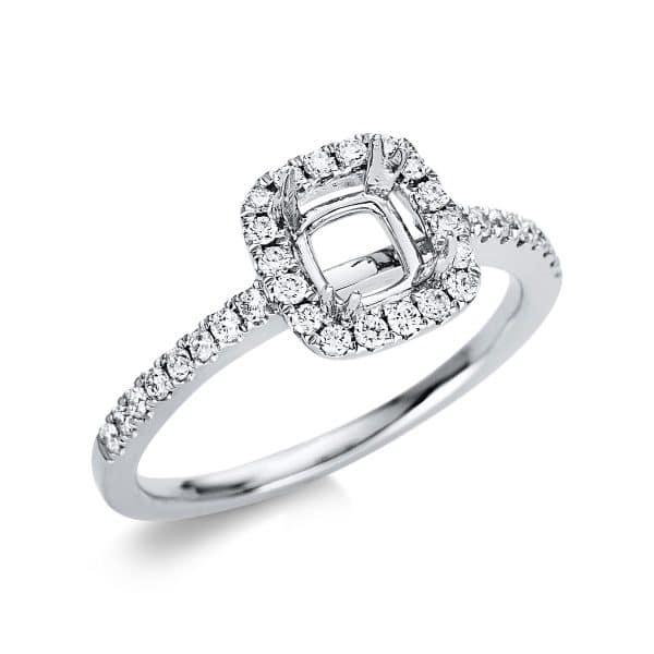 18 kt fehérarany foglalat 34 gyémánttal 1U703W854-1