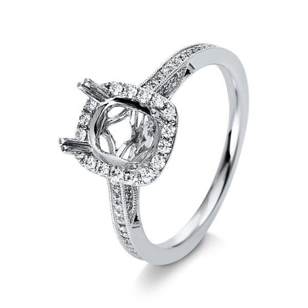 18 kt fehérarany foglalat 91 gyémánttal 1R588W853-1