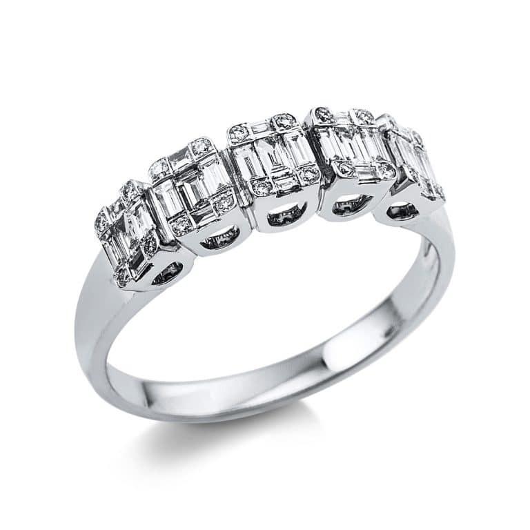 18 kt fehérarany illúzió 45 gyémánttal 1V369W854-1