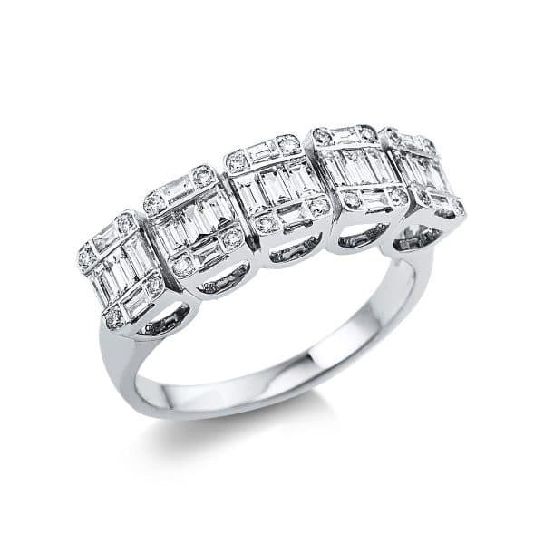 18 kt fehérarany illúzió 45 gyémánttal 1V370W854-1