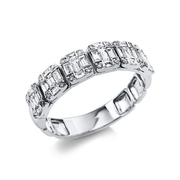 18 kt fehérarany illúzió 54 gyémánttal 1V382W854-1