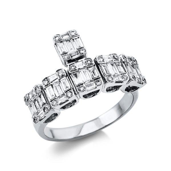 18 kt fehérarany illúzió 54 gyémánttal 1V392W854-1