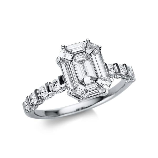 18 kt fehérarany illúzió 99 gyémánttal 1V282W854-1