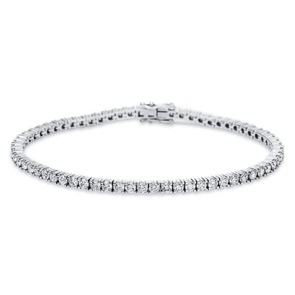 18 kt fehérarany karkötő 66 gyémánttal 5C019W8-1
