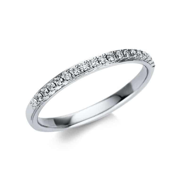 18 kt fehérarany körbe köves eternity 19 gyémánttal 1U243W855-1