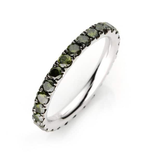 18 kt fehérarany körbe köves eternity 26 gyémánttal 1C644W853-1