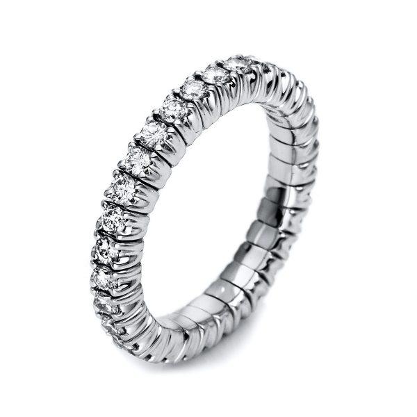 18 kt fehérarany körbe köves eternity 34 gyémánttal 1M249W853-7