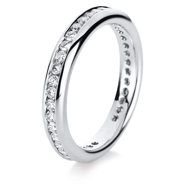 18 kt fehérarany körbe köves eternity 39 gyémánttal 1B872W854-1