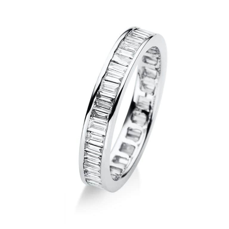 18 kt fehérarany körbe köves eternity 50 gyémánttal 1A951W852-6